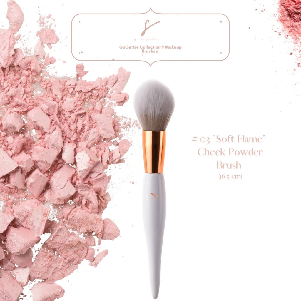 Soft Flame Blusher Brush