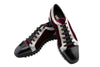 THE VELOUR BORDEAUX SPORTY SHOE