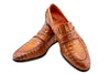 THE CROCODILE TAN SLIP ON LOAFER