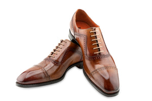 THE HALF BROGUE LACE UP SHOES