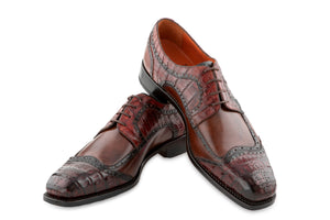 THE CLASSIC HALF BROGUE LACE UP SHOES