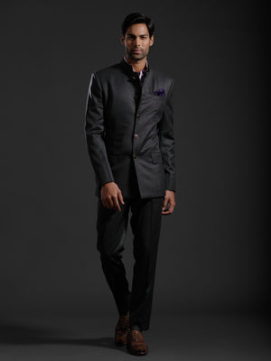 QUINTESSENTIALLY CLASSIC BANDHGALA SUIT