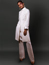 THE MANDANA WORK INSPIRED BANDHGALA JACKET WITH A TUNIC AND BOOT CUT PANTS
