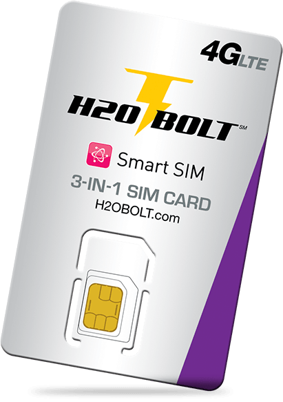 H2o Bolts $50 =  5 GB LTE Data + 5 GB 2G DATA + 1 Sim Kit + 1 New Number