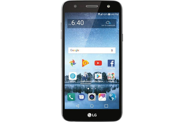 Simple Phone Combo #7 = Simple Mobile Lg Fiesta 2 Lte 5.5' 16gb + Sim Card + $25 Plan + New Number