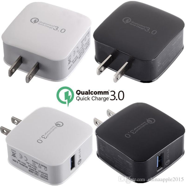 Power Adapter #6 = QC 3.0 Fast Wall Charger USB Quick Charge Travel Power Adapter Fast Charging