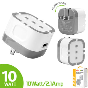 Power Adapter #9 = RUIZ by Cellet High Powered 2.1A (10W) USB Home Wall Charger