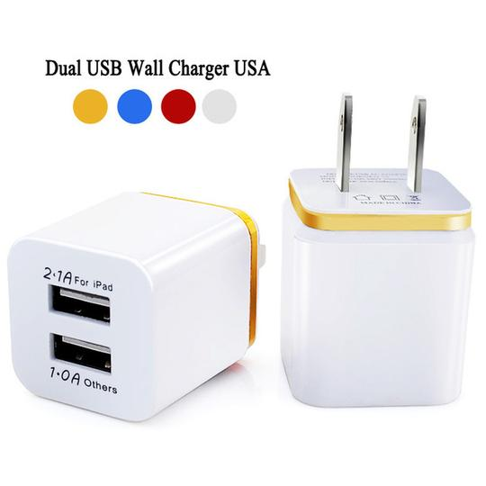 iphone Travel charger #24 = IPHONE 5,6,7,8,X CABLE 3FT. WHITE + DUAL USB TRAVEL CHARGER