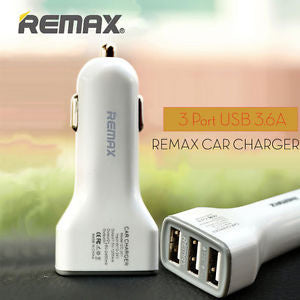 Power Adapter #3 =  car charger Remax car charger auto power adapter 3.6A Car chargers