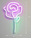NEON ROSE DESCRIPTION Shipped from Melbourne