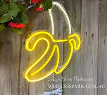 Load image into Gallery viewer, NEON LIGHT BANANA DESCRIPTION Shipped from Melbourne