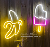 NEON LIGHT  ICE CREAM DESCRIPTION Shipped from Melbourne