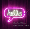 HELLO wall LED neon light sign