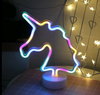 Unicorn Neon Light Signs RGB Neon Sign USB/Battery Powered Party Wedding Bedroom