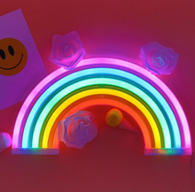 Load image into Gallery viewer, Rainbow NEON sign, Personalized gifts, Kids Light, Decoration light
