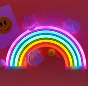 Rainbow NEON sign, Personalized gifts, Kids Light, Decoration light