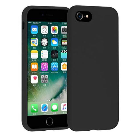 Black Jelly Case for iPhone