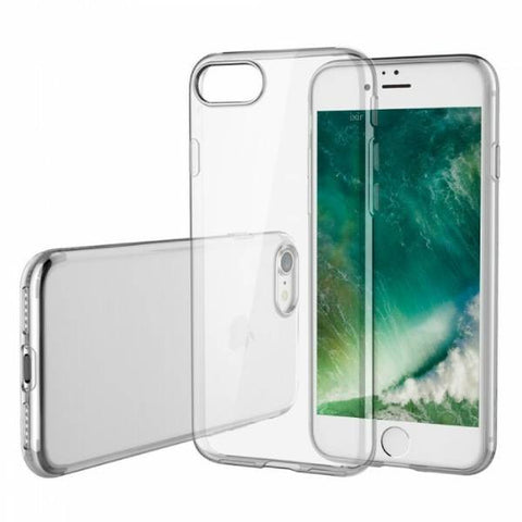 Transparent Jelly Case Designed for Apple iPhone Smartphone