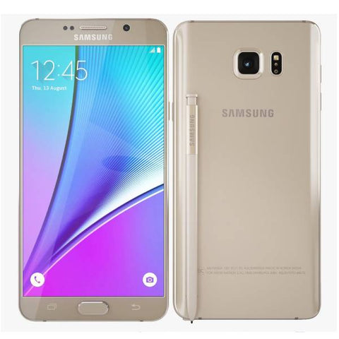 Samsung Galaxy Note 5 32GB Gold Platinum Amazing as New Unlocked Genuine AU Stock Smartphone