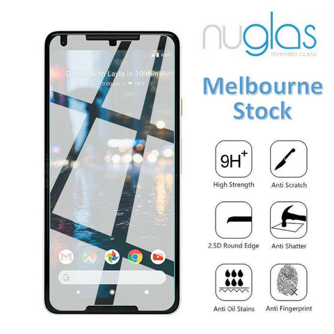 Nuglas Screen Protector for Google Pixel - 2 Pack Tempered Glass Protection