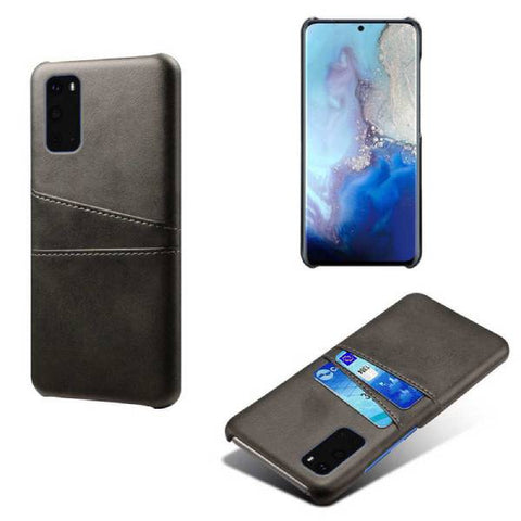 Genuine Leather Case with Card Slots for Samsung Galaxy Mobile