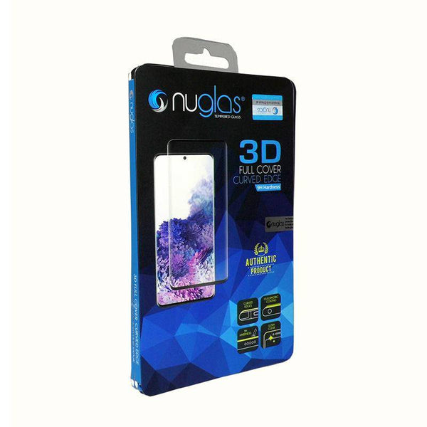 3D curved Edge Nuglas Screen Protector for Samsung Galaxy - 1 Pack Tempered Glass Protectors