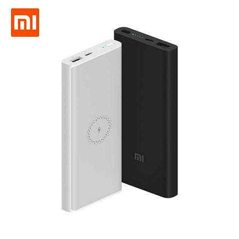 Xiaomi Mi 10000mAh Wireless Power Bank PLM11ZM Qi 10W Fast Charger w/ USB Type C