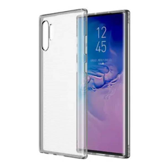 Transparent case with rubber sides (shock proof) for Samsung Galaxy Phones