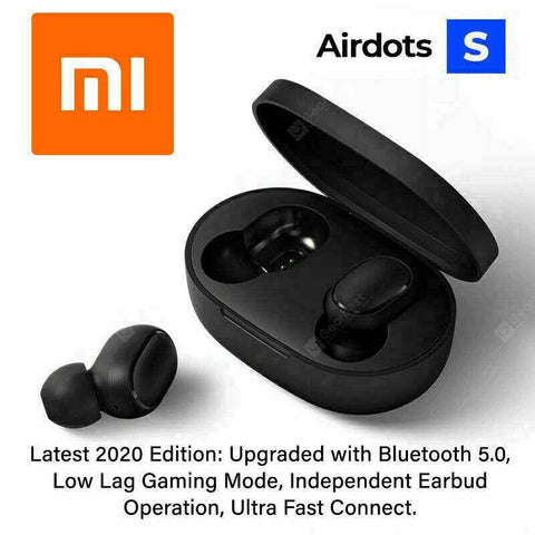 Xiaomi Mi Airdots S Wireless Earphones Bluetooth Earphone Global 2020 Version