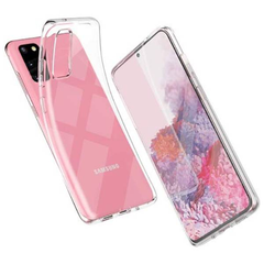 Transparent Jelly Case for Samsung Galaxy Phones