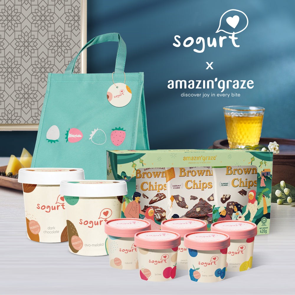 Load image into Gallery viewer, RAYA Gift Bundle (Sogurt x Amazin' Graze)