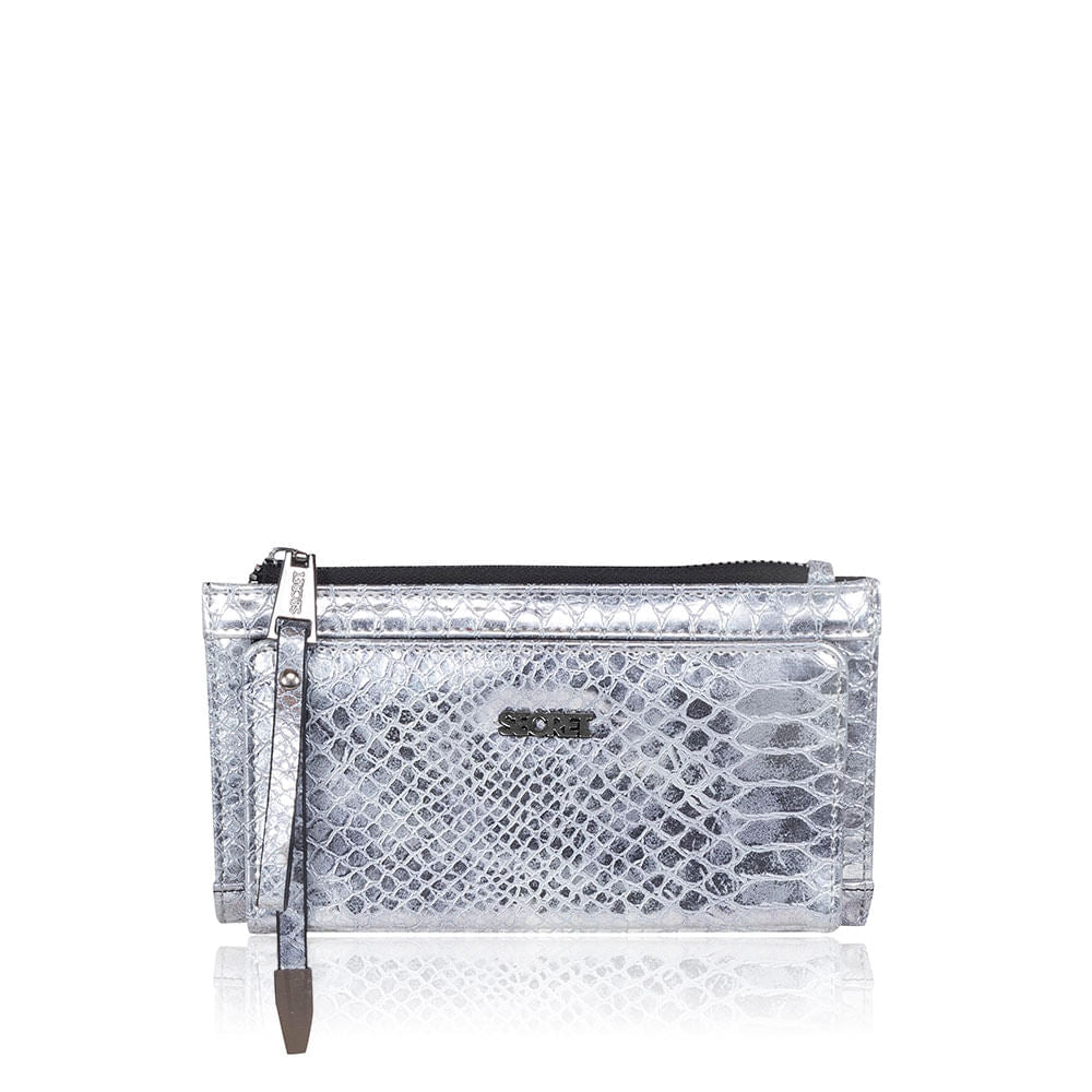 Billetera Manhattan Ss20 Silver Xl
