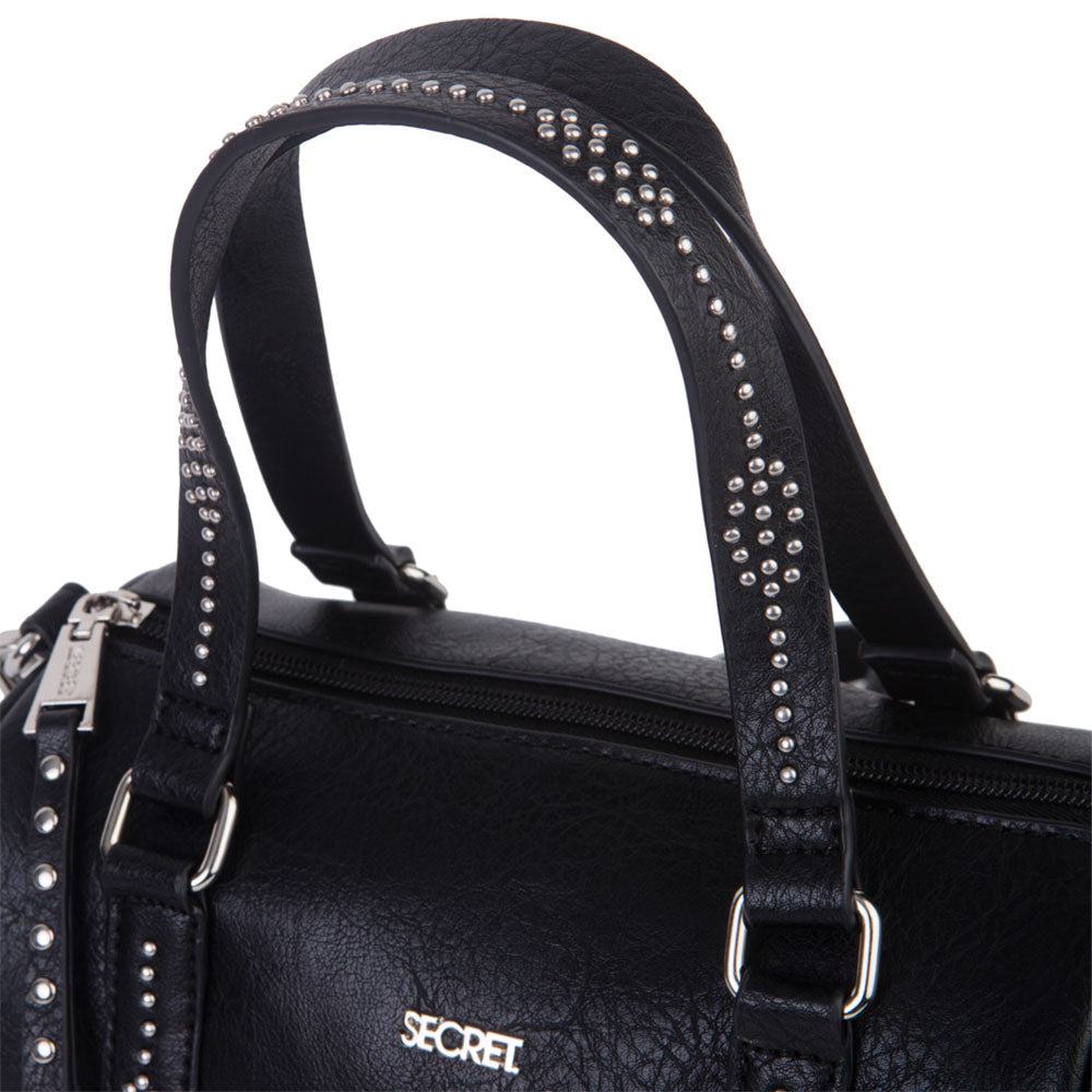 Cartera Uganda Satchel Black M