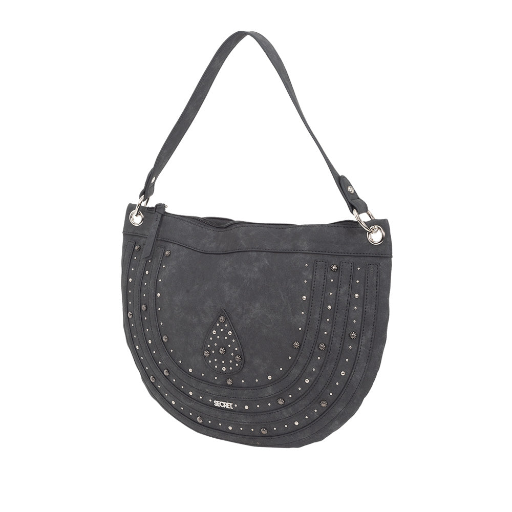 Cartera Positano Shoulder bag Black L