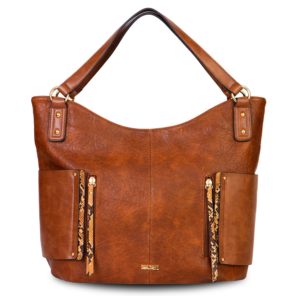 Cartera Odese Medium Brown