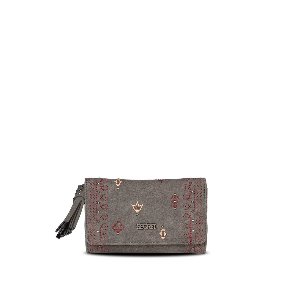 Billetera Samara Grey M