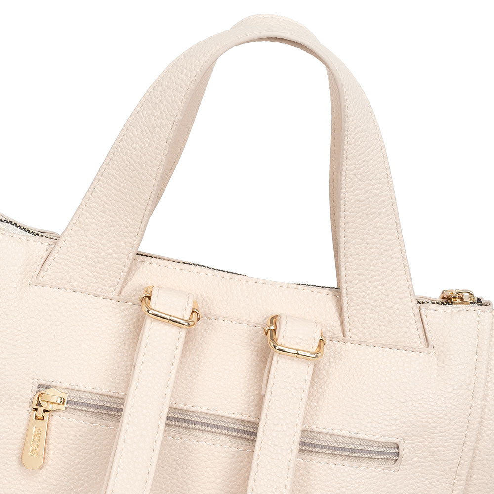 Mochila Angola Backpack Ivory L