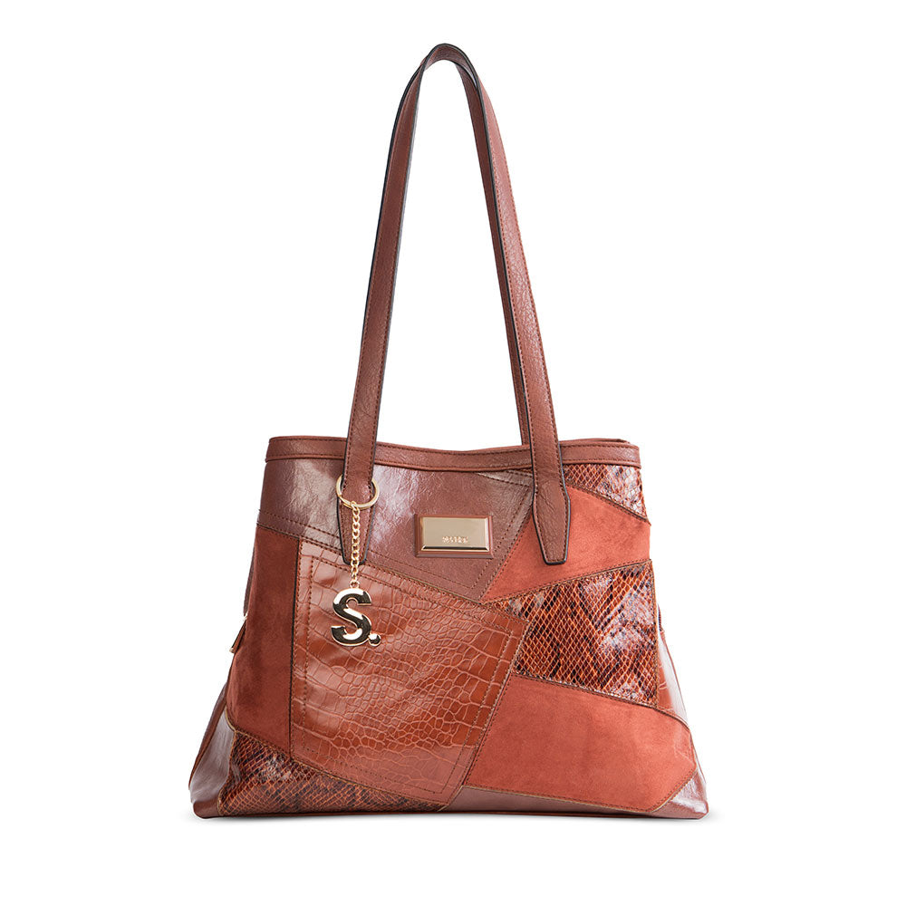Cartera Selfoss Fw20 Shoulder Bag Rust L