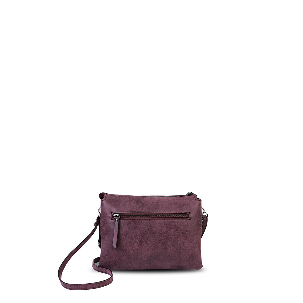 Cartera Ystad Fw20 Cross Bag Purple S