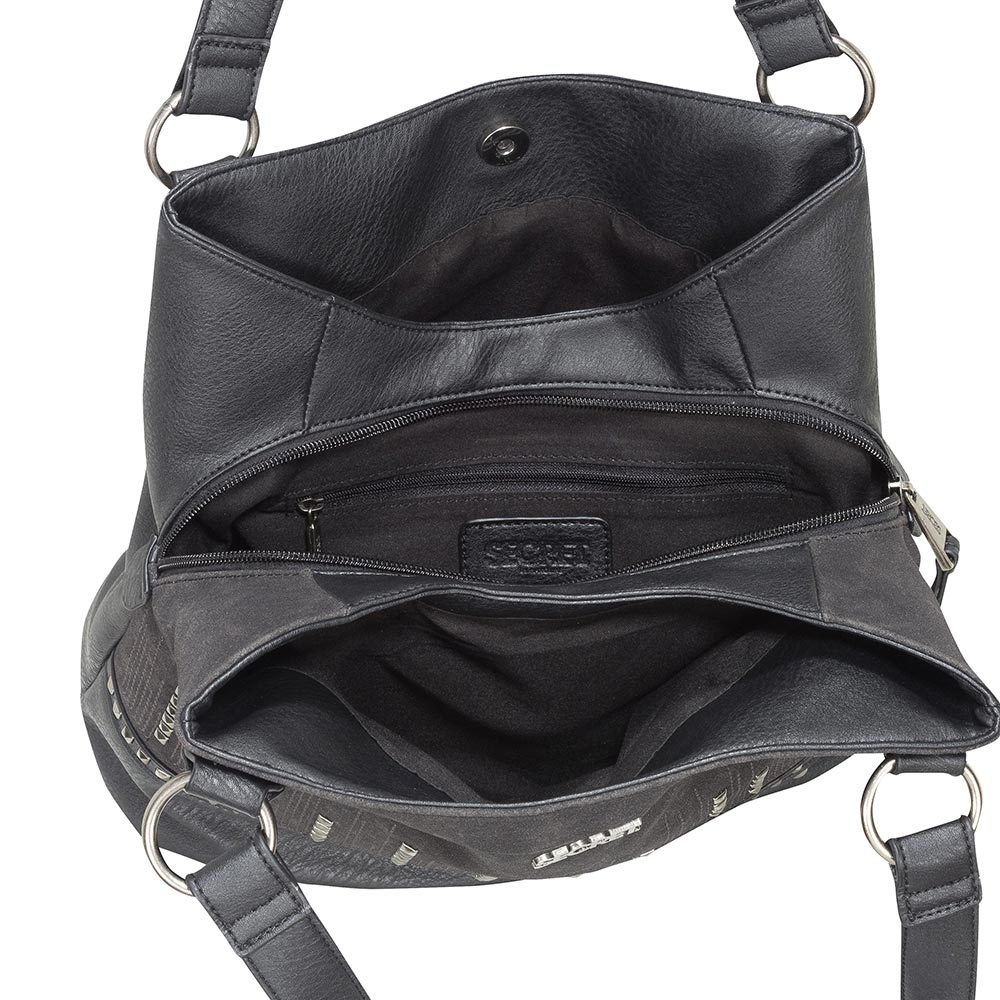 Cartera Agen Shoulder Bag Negro L