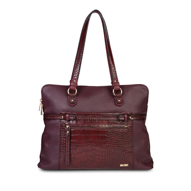 Bolso Malmo Fw20 Laptop Briefcase Burgundy Xl