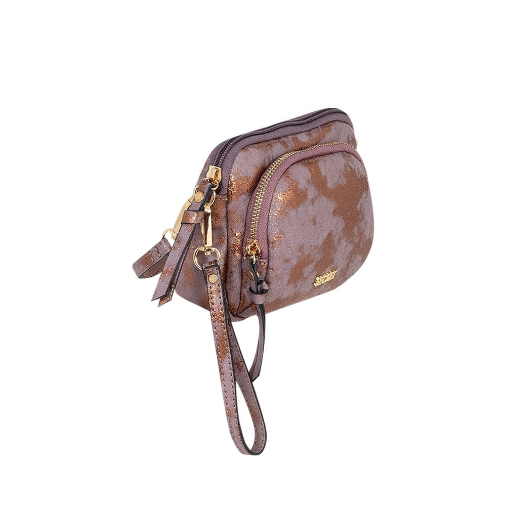 Cartera Narvik Ss20 Cross Bag Metalic Toast. Xs
