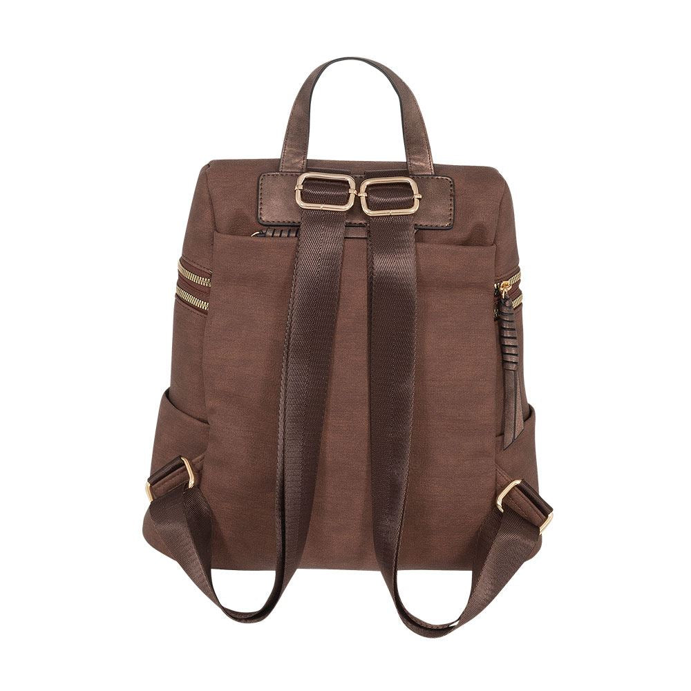 Mochila Singapore Ss20 Backpack Dark Brown M