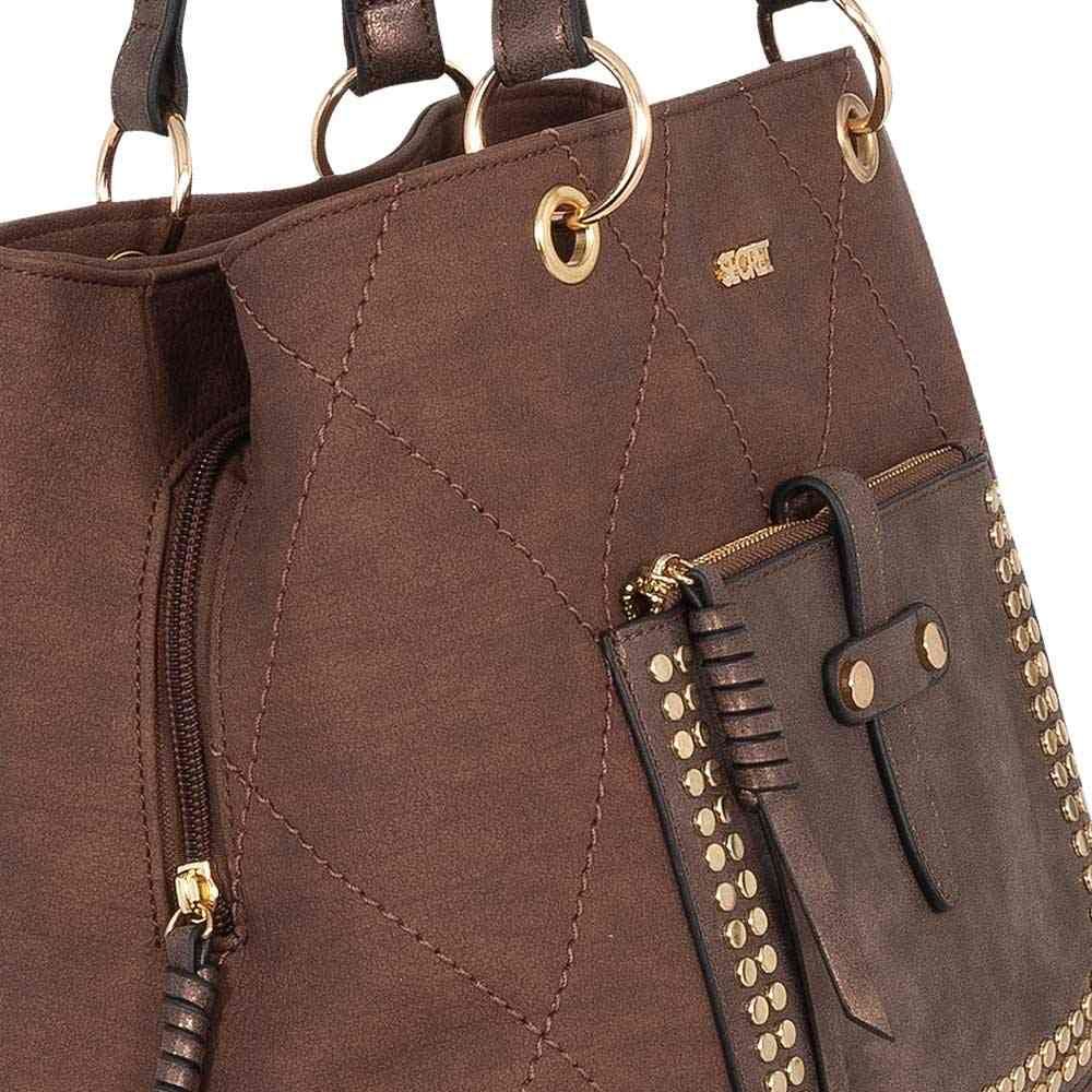Cartera Singapore Ss20 Shoulder Bag 3D Dark Brown L