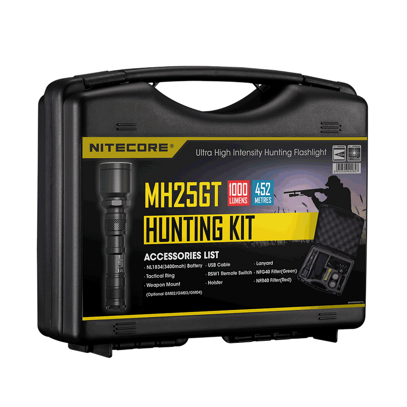 MH25GT NITECORE - Oak and Ash Home