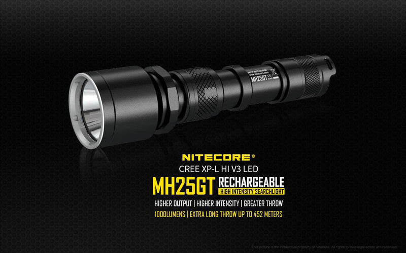 MH25GT NITECORE at Oak and Ash Home
