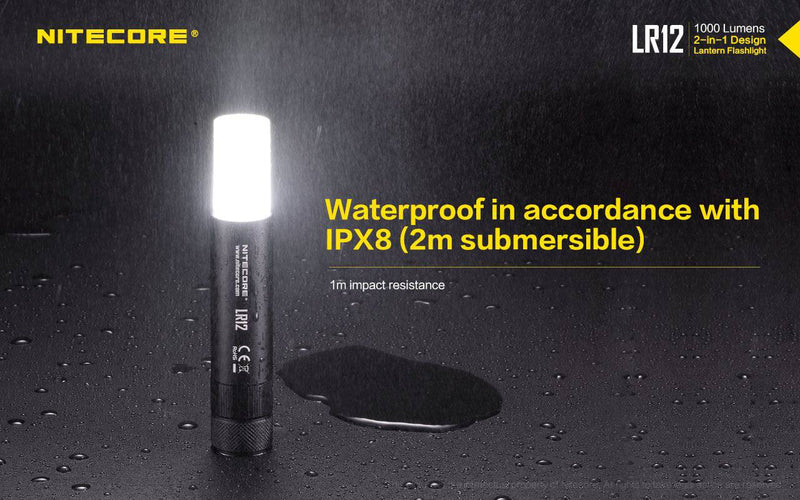 LR12 2-in-1 LANTERN NITECORE at Oak and Ash Home