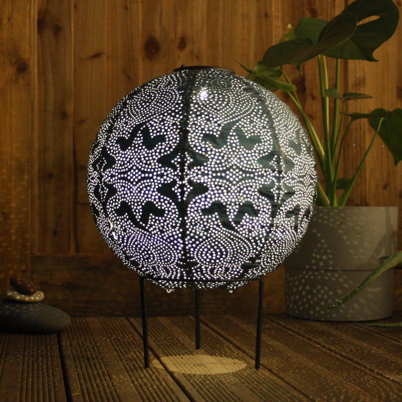 SOLAR LANTERN GLOBE at Oak and Ash Home