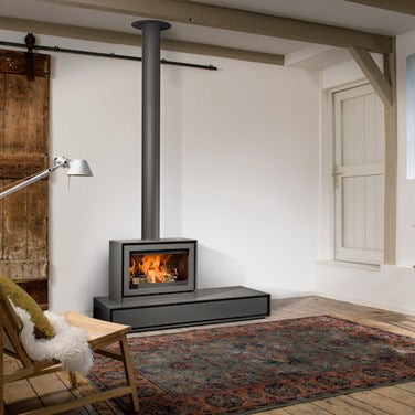 BARBAS BOX 65 WOODBURNER at Oak and Ash Home