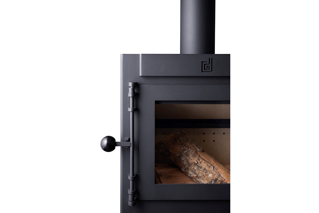DIK GEURTS - JANNIK LARGE EA  WOOD STOVE at Oak and Ash Home